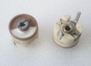 Scheibentrimmer 4-20 pF; 2-Pin
