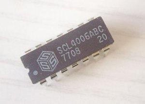 SCL4006ABC, SCL4006, MOS 4006