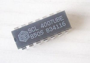 SCL4007UBE, SCL4007, MOS4007