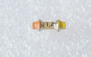 1,2 pF Rohrkondensator
