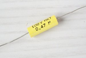 MKT-Kondensator 0,47 uF/100V