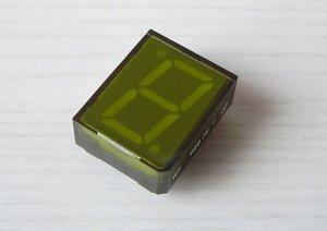 VQB27D, 1-stellig / Grün
