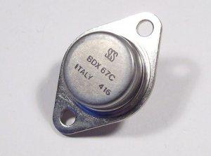 BDX67C, NPN-Darlington