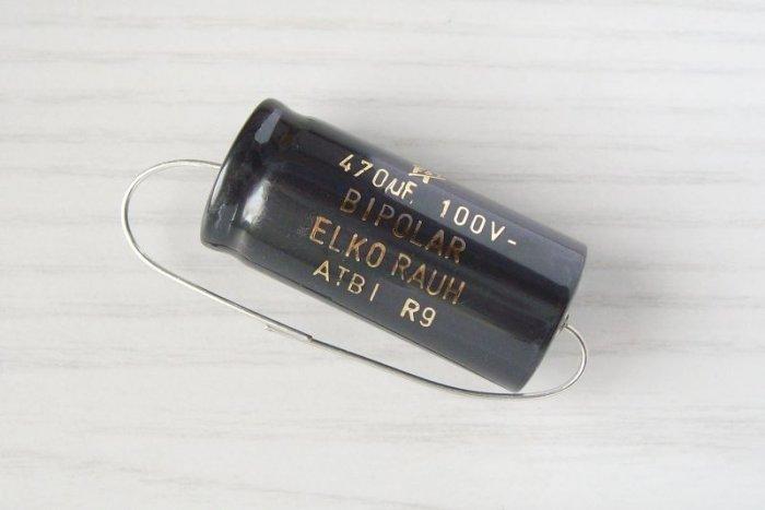 Elko-bipolar 470/100