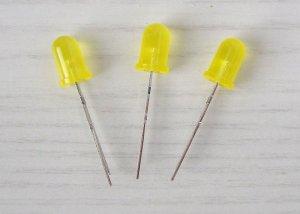 LED 5mm, gelb